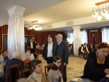 Члены Киевского городского общества греков встретили Рождество Христово, поздравили друг друга с Новым, 2017 годом