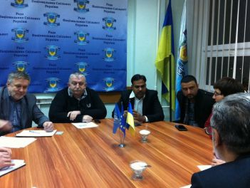Встреча членов Рады национальных меньшинств Украины с нашими индийскими друзьями