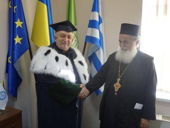 Впервые в гостях протоиерей отец Сотириос Коскорис