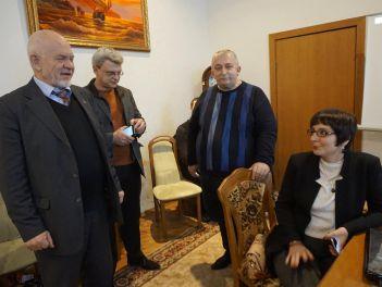 Визит индийской делегации в Украину (г. Киев) по приглашению Корецкого Н.Х.