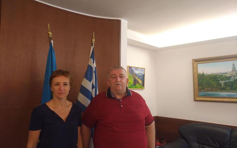 Відбулася зустріч з очільницею Посольства України в Грецькій Республіці пані Наталією Косенко.