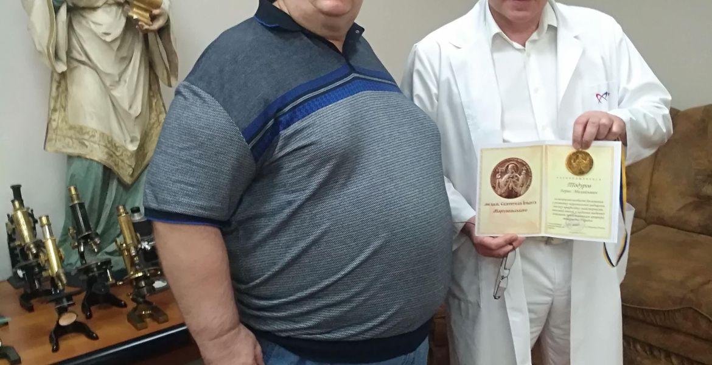 Нагородження кращого лікаря Україна Бориса Тодурова