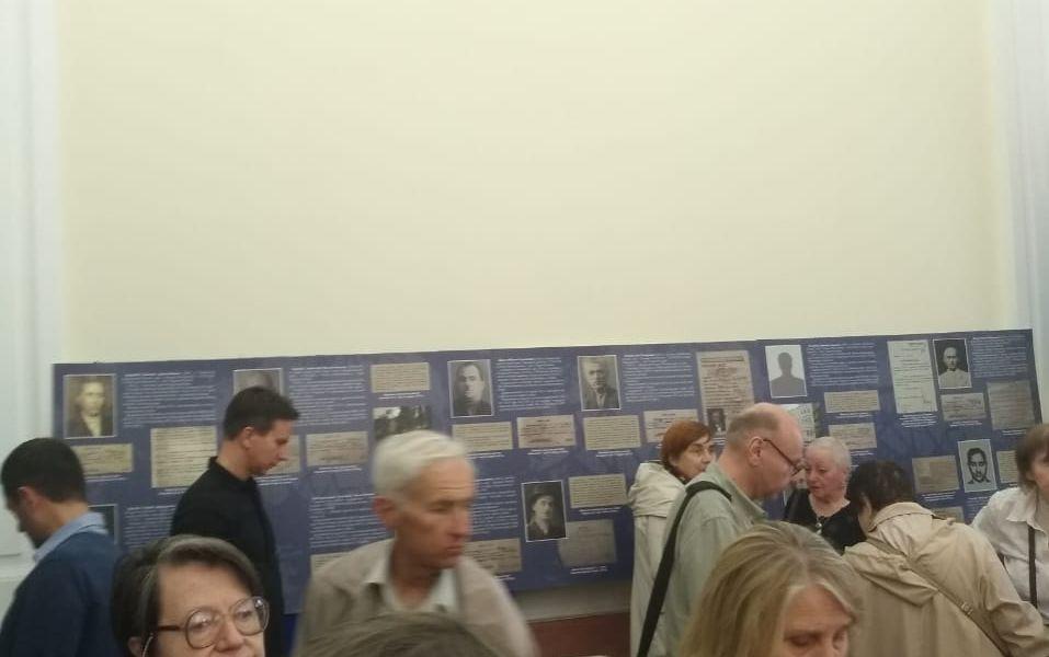 Відкриття виставки в КМДА, що присвячена репресованим грекам Києва