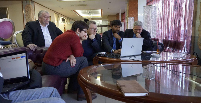 За пропозицією ректора Таврійського національного університету імені в. І. Вернадського професора Казаріна В. П. пройшла зустріч з експертами наших індійських розробників
