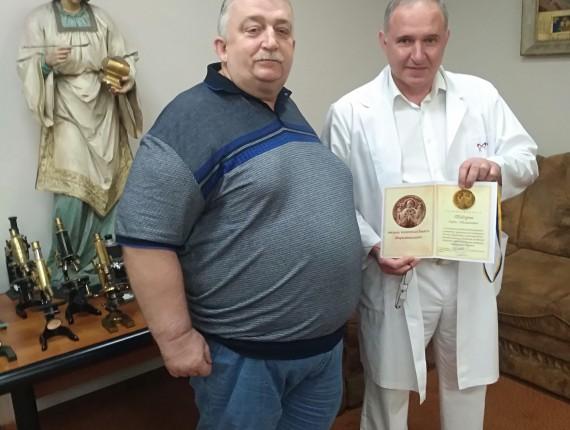 Награждение лучшего врача Украины Бориса Тодурова