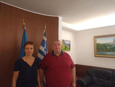 Произошла встреча с главой Посольства Украины в Греческой Республики госпожой Натальей Косенко.