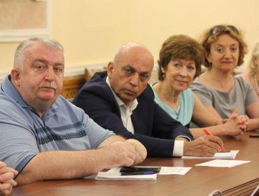 Участие Корецкого М.Х. на заседании Общественного совета при Минкультуры Украины
