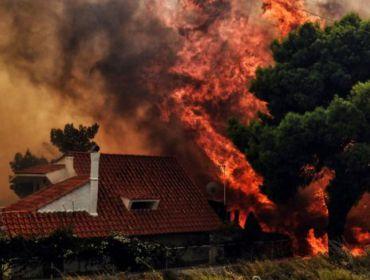 Выражаем соболезнования пострадавшим от лесных пожаров в Греции