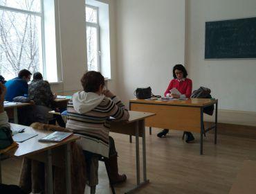 Заняття Центру новогрецької мови. Урок 4.