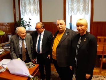 Привітання Президента Національної Академії наук України академіка Бориса Євгеновича Патона