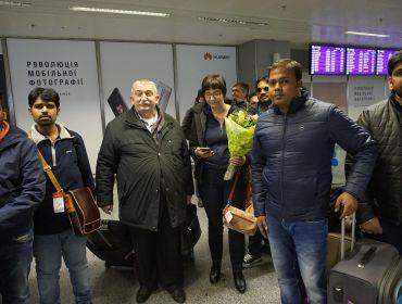 Зустріч індійських гостей в м. Києві