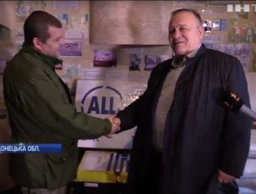 Допомога від Пантелеймона Бумбураса українським військовим (Відео)